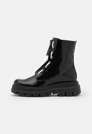 STIVALETTO DONNA WOMAN`S BOOT - Platform ankle boots - black