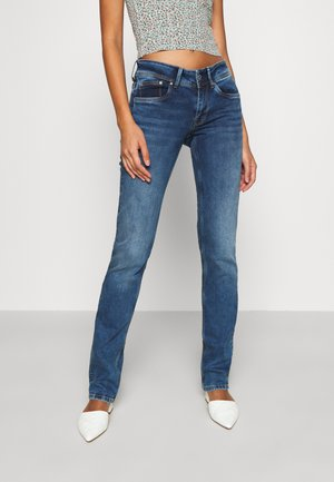 HOLLY - Jean droit - medium used wiser wash