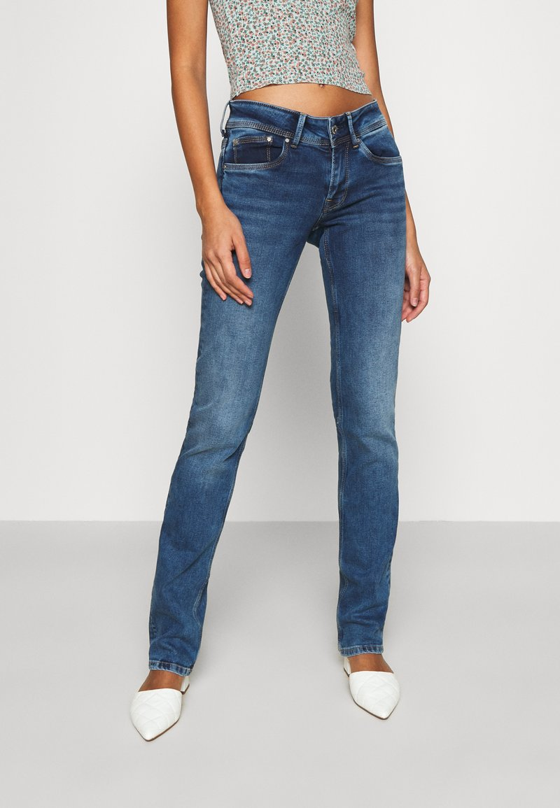Pepe Jeans - HOLLY - Jean droit - medium used wiser wash