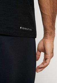 MOROTAI - Print T-shirt - black - 4