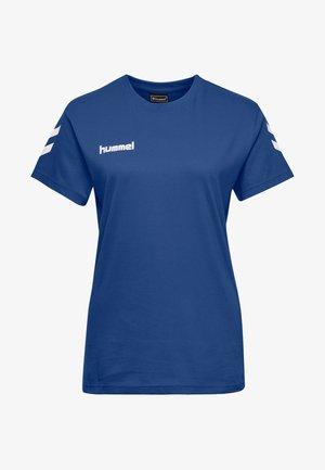 GO WOMAN - T-shirts med print - true blue