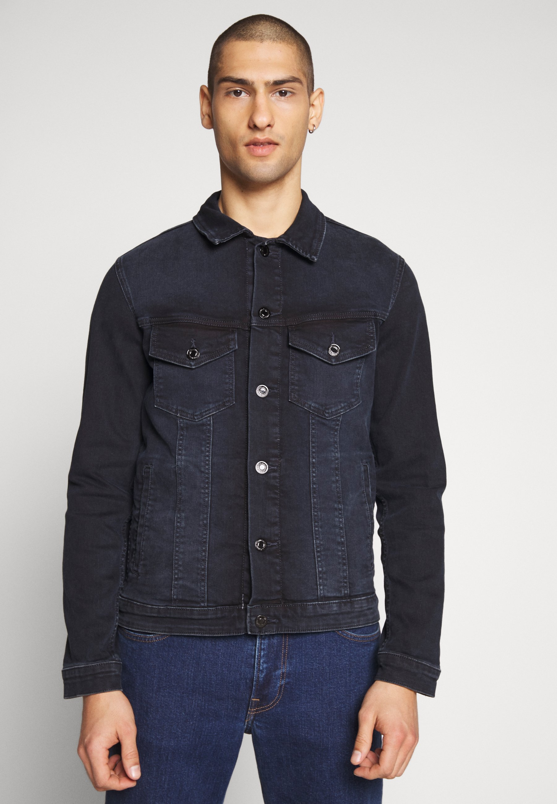 Men JJIALVIN JJJACKET  - Denim jacket