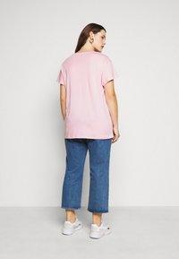 New Look Curves - BOYFRIEND TEE - T-shirt basique - mid pink - 2