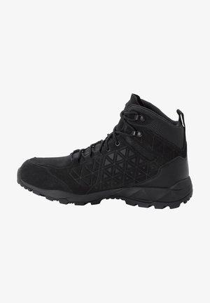 CASCADE - Hiking shoes - black/phantom