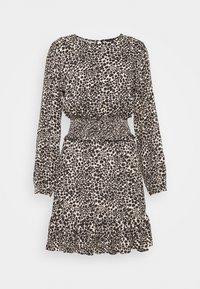 SHIRRED DRESS - Day dress - neautral
