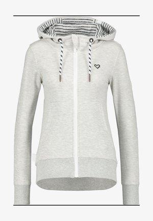Zip-up sweatshirt - cloudy