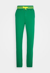 Schott - PHIL - Tracksuit bottoms - bresil green/yellow - 0