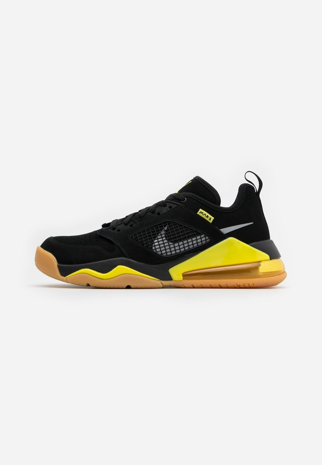 MARS 270  - Basketball shoes - black/metallic silver/dynamic yellow/light brown