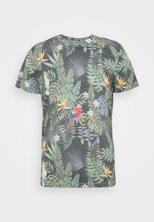 JORTROPICALBIRDS TEE CREW NECK - Print T-shirt - navy blazer