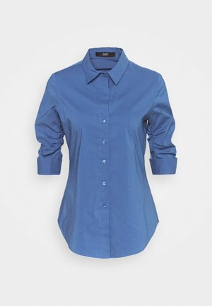 THE ESSENTIAL BLOUSE - Button-down blouse - smoky blue