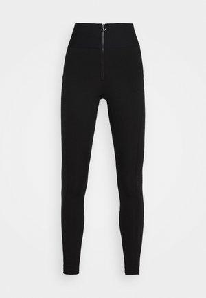 TIGHTS - Leggings - Trousers - black
