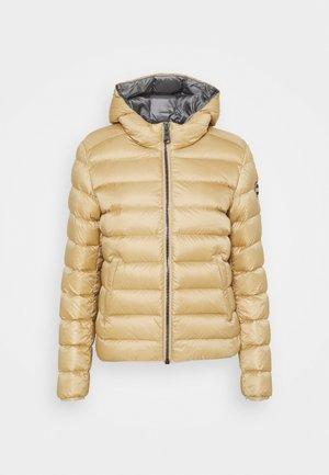 Down jacket - sand