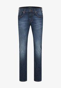 Baldessarini - Slim fit jeans - blue used buffies - 5