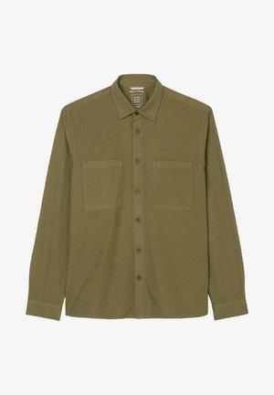 SEERSUCKER RIPSTOP - Camicia - marsh brown