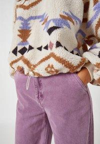 PULL&BEAR - Fleece jumper - white - 4