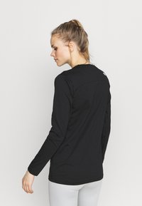 The North Face - WOMENS SIMPLE DOME TEE - Long sleeved top - black - 2