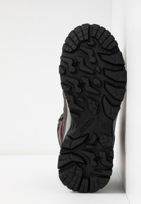 Hi-Tec - BANDERA LITE MID WP WOMENS - Hiking shoes - charcoal/amaranth/light grey - 4