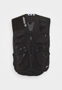 adidas Originals - TRAIL VEST - Waistcoat - black - 4