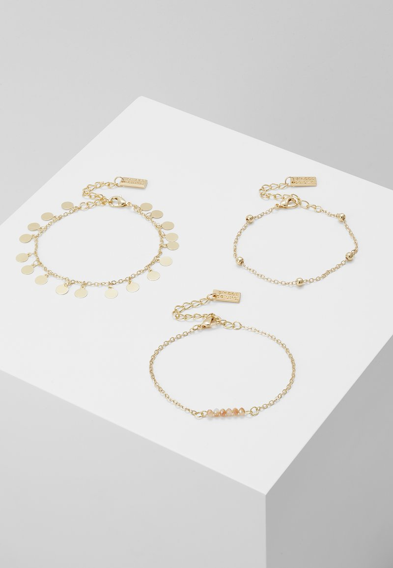 sweet deluxe - 3 PACK - Bracelet - gold-coloured