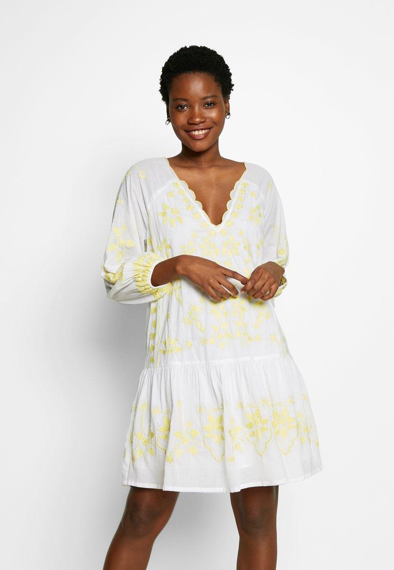 By Malina - DELIA KAFTAN - Day dress - lemon