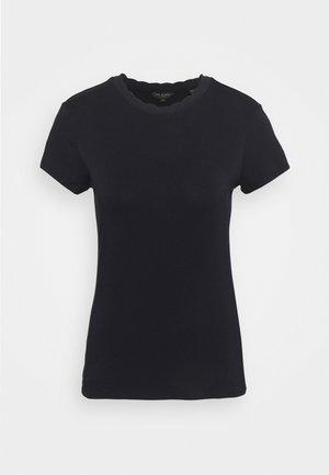 LECCA - Basic T-shirt - navy