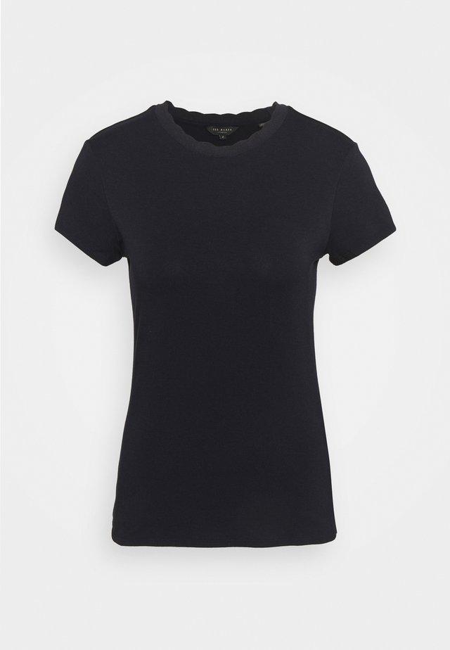 LECCA - T-shirt basic - navy
