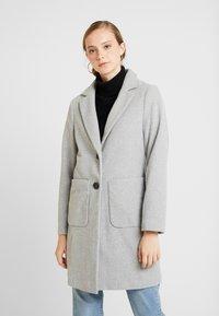 New Look - LEAD IN COAT - Kort kåpe / frakk - light grey - 0