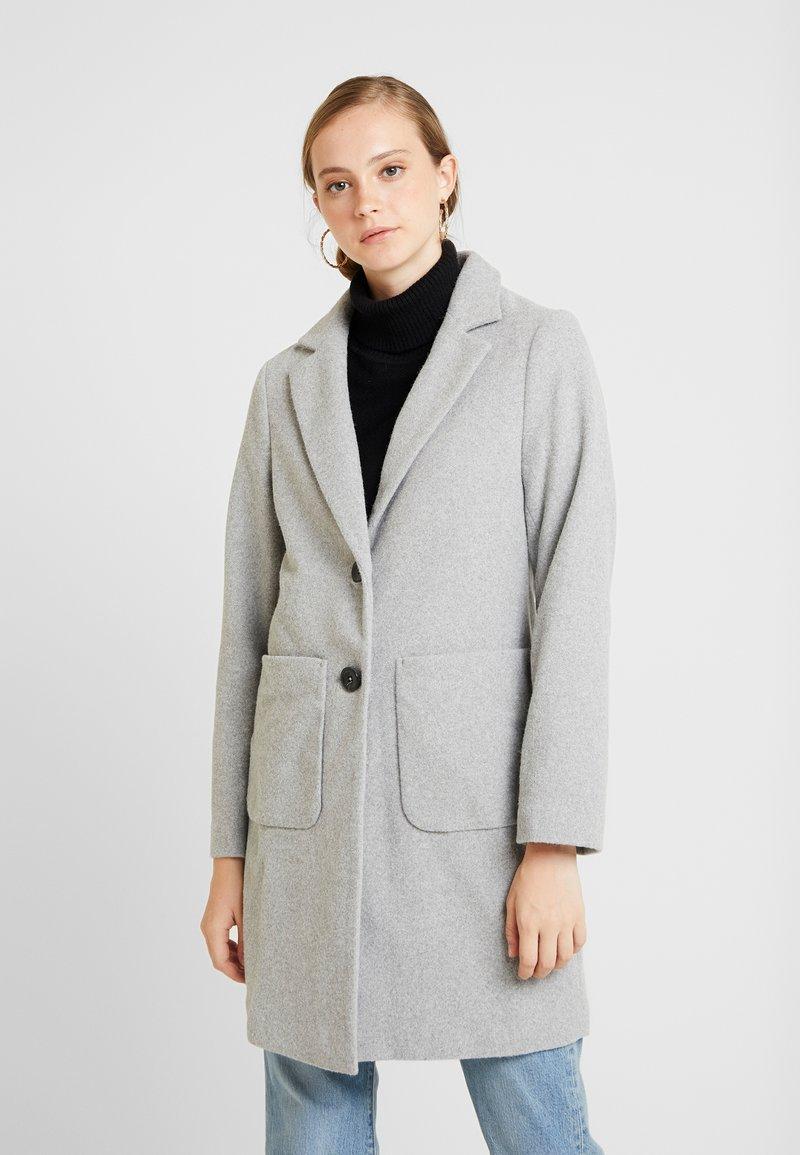 New Look - LEAD IN COAT - Kort kåpe / frakk - light grey