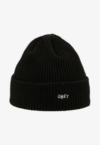 Obey Clothing - HANGMAN BEANIE - Mössa - black - 4