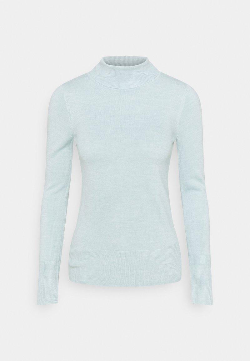 Marks & Spencer London - ROLL - Stickad tröja - turquoise