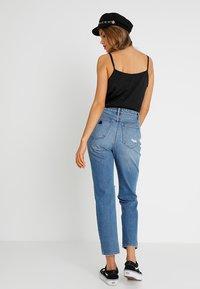 Abrand Jeans - HIGH - Slim fit jeans - blue denim - 2