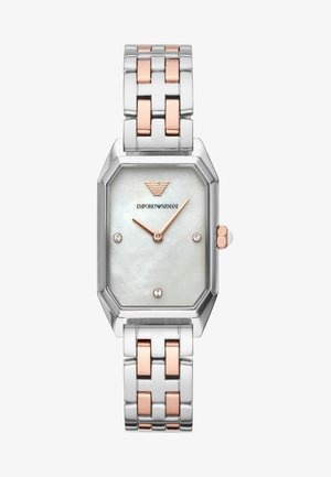 Watch - roségold/silver-coloured