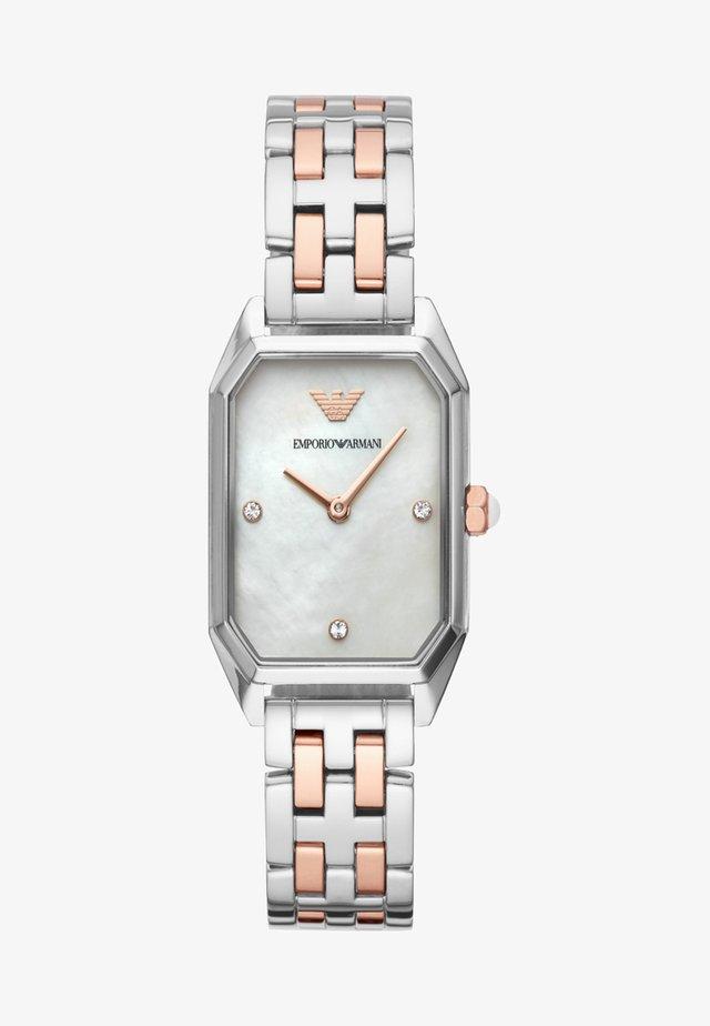 Uhr - roségold/silver-coloured