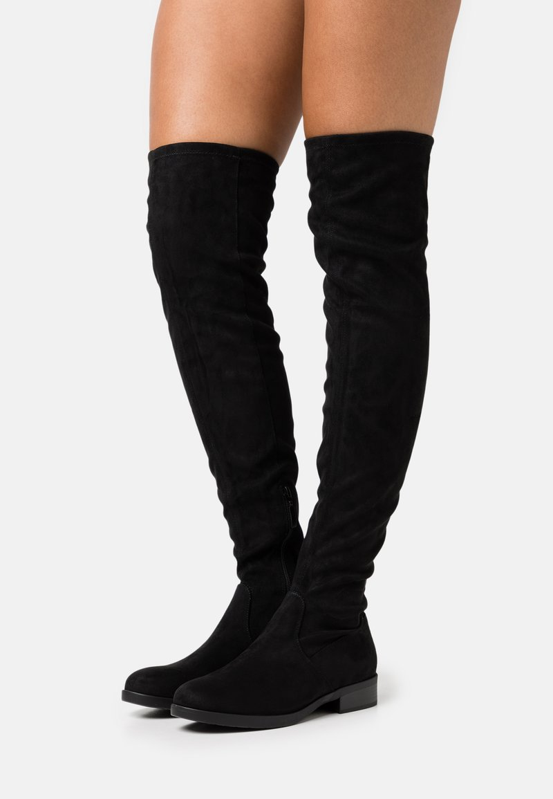 Esprit - JENNIFE - Over-the-knee boots - black
