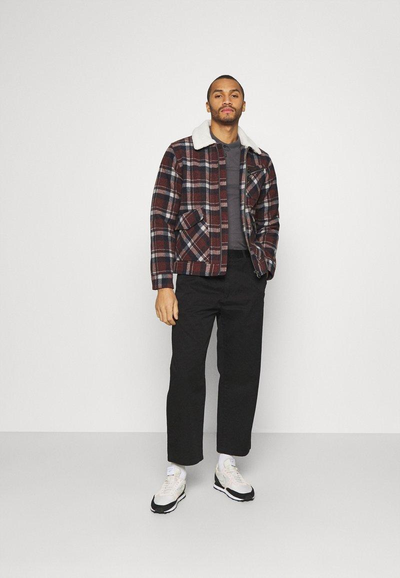 Zign - 2 PACK - Polo shirt - black/dark grey