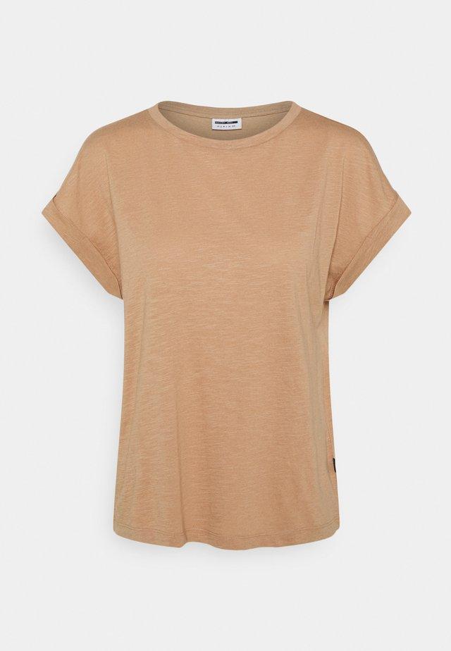 MATHILDE  - T-shirt basic - praline