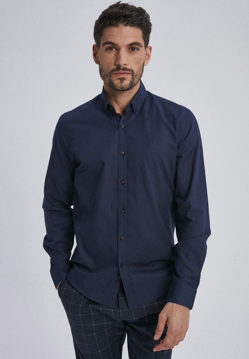 Auden Cavill - Shirt - dark blue