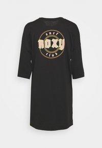 Roxy - MACRAME HOUR - Vestito di maglina - anthracite - 1