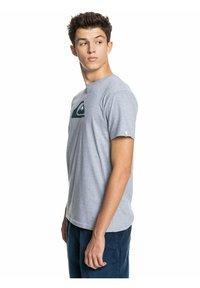 Quiksilver - COMP LOGO  - Print T-shirt - athletic heather - 3