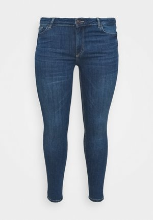PCDELLY  - Skinny džíny - medium blue denim