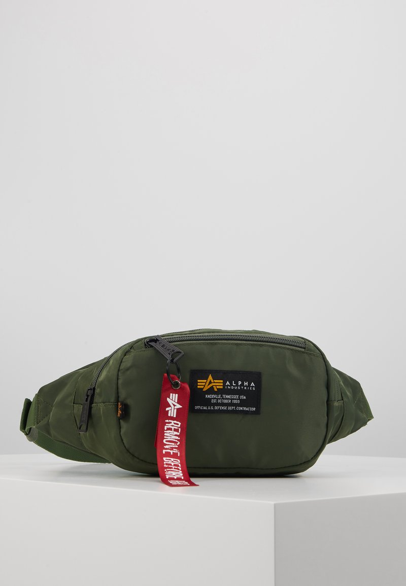 Alpha Industries - CREW WAISBAG - Bum bag - sage green