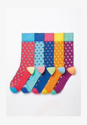 FIVE PACK - Socks - blue