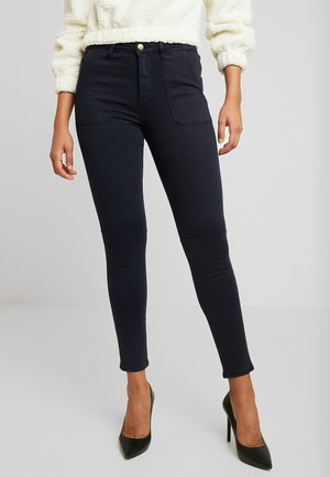 CARGO PANT - Jeansy Skinny Fit - navy