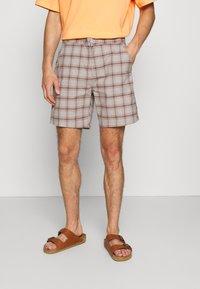 Brixton - CHOICE E WAIST - Shorts - grey - 0