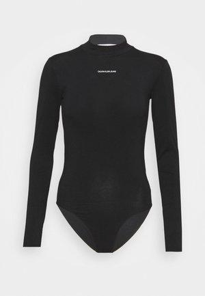 MICRO BRANDING - Long sleeved top - black