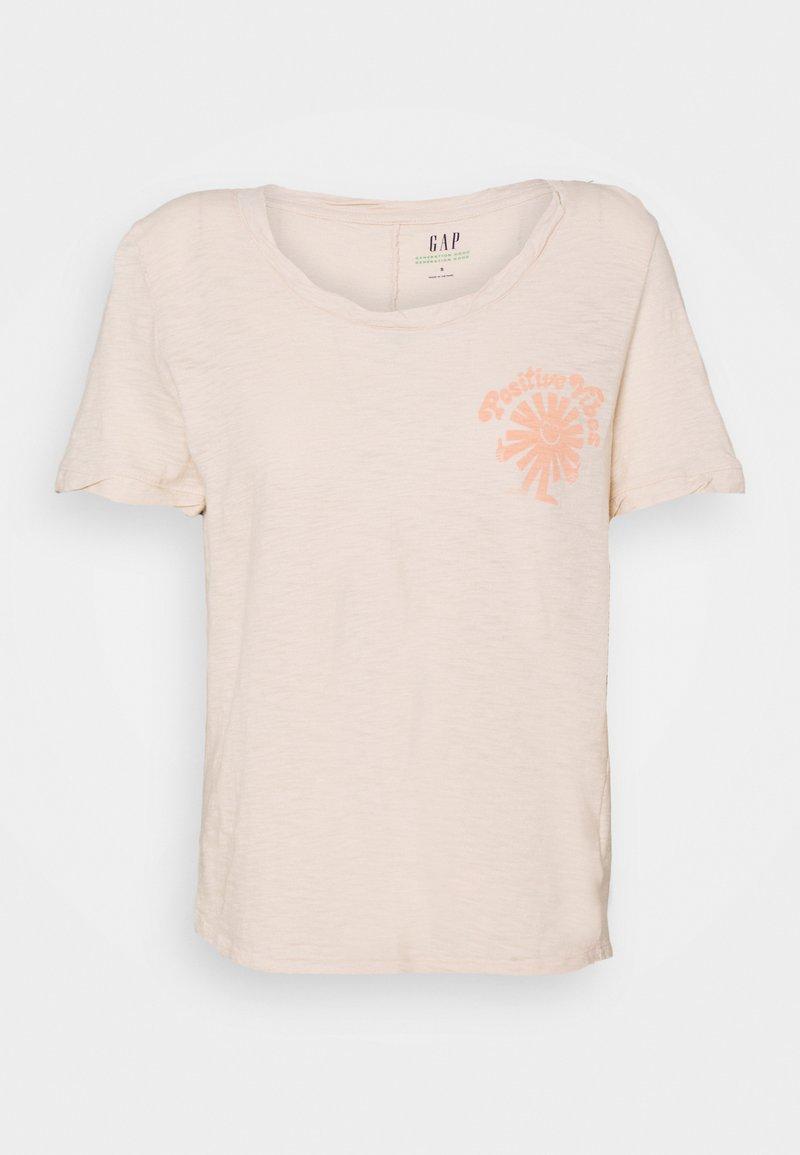 GAP - Print T-shirt - raffia