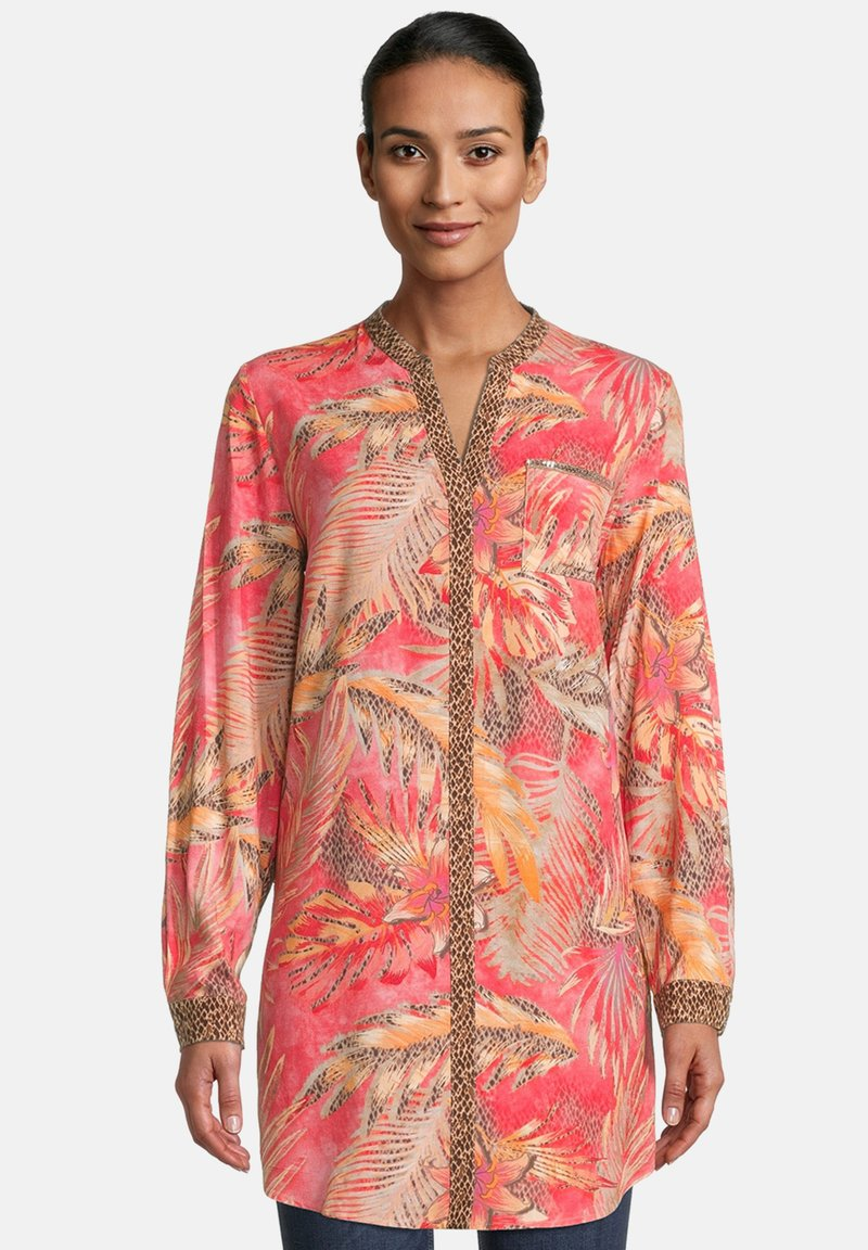 Betty Barclay - Blouse - red/camel