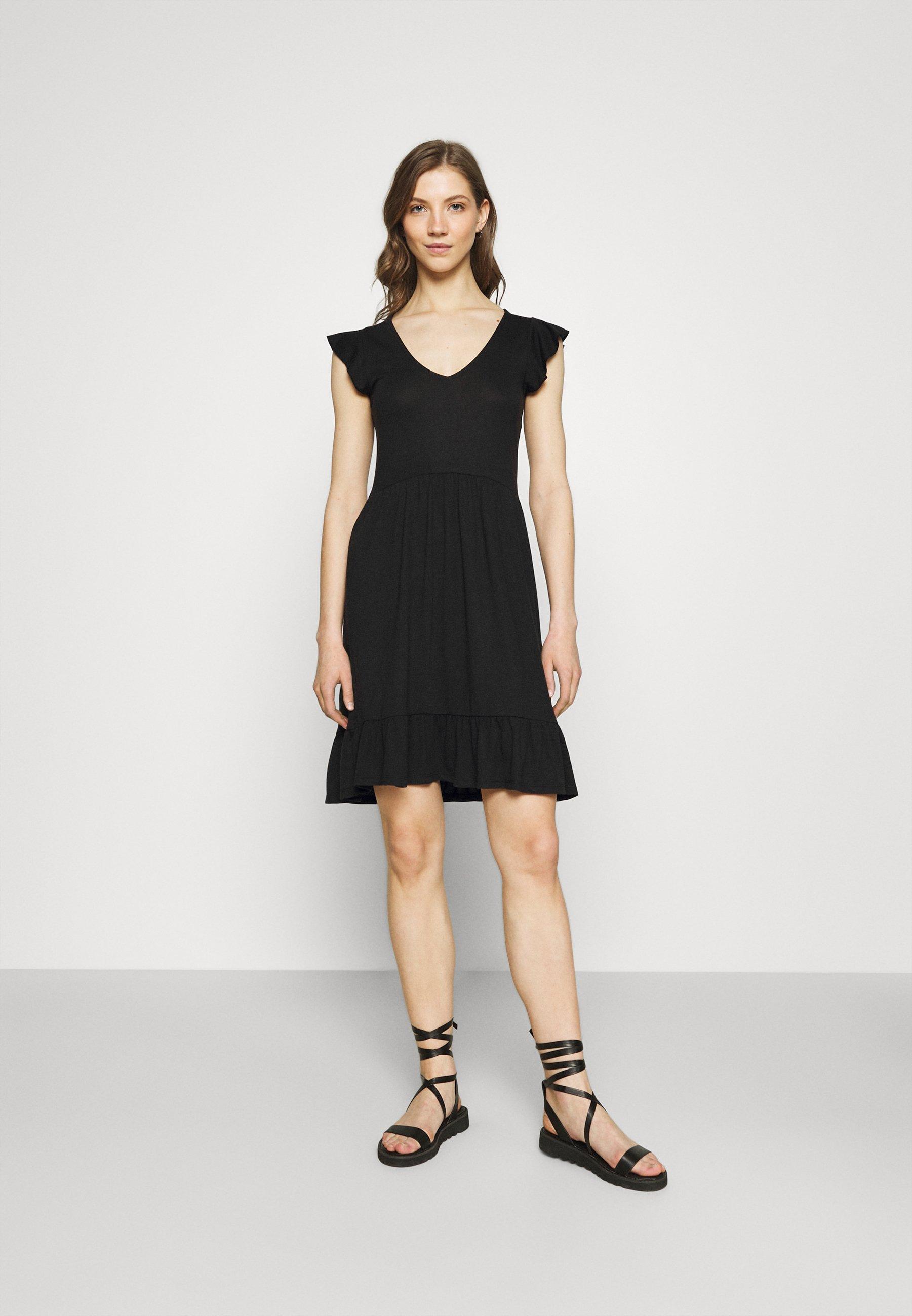 Damen JDYDITTE V NECK DRESS - Jerseykleid