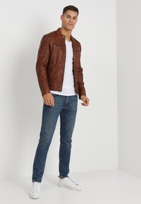 Gipsy - CAMREN LASYV - Leather jacket - cognac - 1