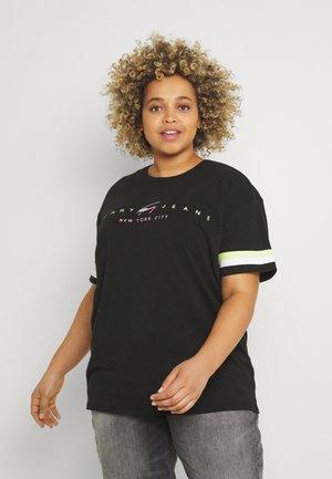 MODERN LOGO TEE - T-shirt imprimé - black